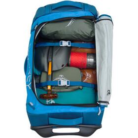 Osprey Rolling Transporter 90 Duffel Bag Kingfisher Blue